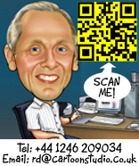 Cartoonist Richard who you can or Tel on 01246 209034
